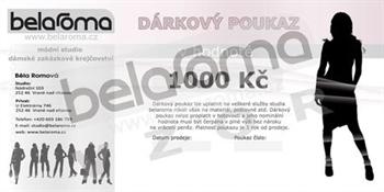 Obrázek Dárkový poukaz belaroma 1000Kč