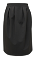 Obrázek Šedá balonová sukně belaroma ke kolenům