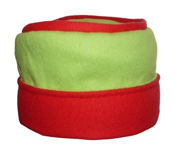 Obrázek Čepice belaroma zeleno - červená (oboustranná)
