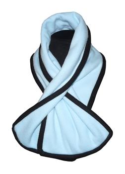 Obrázek Šála belaroma světle modrá - černá (light blue - black)