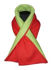 Obrázek Šála belaroma zeleno - červená (green - red)