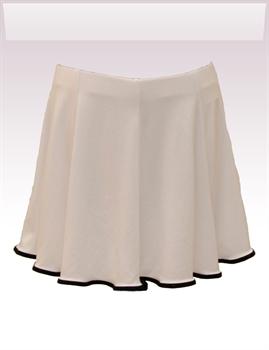 Obrázek In...line... bílá sukně s legínami belaroma s černým lemováním