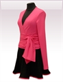 Obrázek In...line... růžový zavinovací kabátek belaroma s dlouhým rukávem