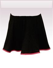 Obrázek In...line... černá sukně s legínami belaroma s růžovým lemováním
