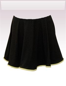 Obrázek In...line... černá sukně s legínami belaroma se zeleným lemováním