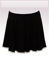 Obrázek In...line... černá sukně s legínami belaroma s bílým lemováním