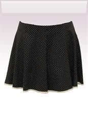 Obrázek In...line... černá sukně s legínami belaroma puntík s bílým lemováním
